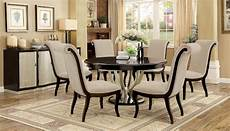 furniture of america ornette round dining set