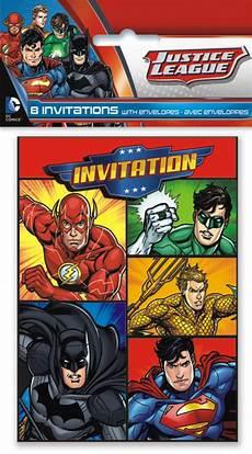 Malvorlagen Superhelden Kaufen ᐅ Einladungskarten Superhelden Justice League Kaufen