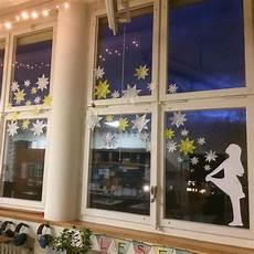 Fensterbilder Weihnachten Vorlagen Grundschule Unser Fensterschmuck Zum Thema Sterne Sterntaler