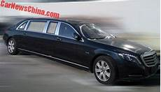 mercedes maybach s600 pullman is a black