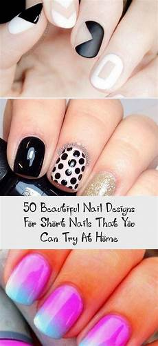 50 beautiful nail designs for short nails that you can try