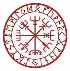 viking protection runes vegvisir compass talisman vinyl