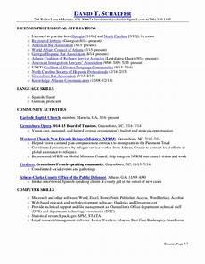 schaefer resume