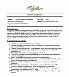 free 12 sle housekeeping resume templates in pdf ms word