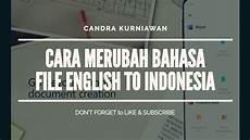 Igel Malvorlagen Gratis Bahasa Indonesia Free Change Language Mengganti File Pdf To