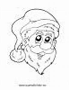 Ausmalbilder Weihnachtsmann Gesicht Ausmalbilder Nikolaus Auf Schlitten Weihnachten Malvorlagen
