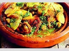 easy chicken tagine tajine with olives and lemon_image
