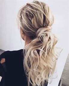 35 simple cute messy ponytail hairstyles 2019 guide