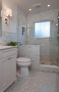 bathroom tile walls ideas half wall shower like the half wall not the tile bathroom ideas in 2020 tiny