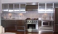 Metal Kitchen Furniture How To Paint Metal Kitchen Cabinets Midcityeast