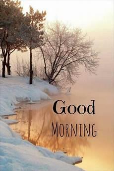Guten Morgen Winter Szenen Naturbilder Und Natur