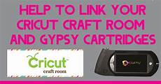 my cricut craft room help to link your and cricut