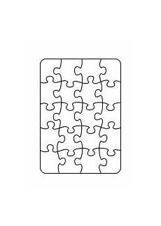 puzzle basteln selber machen druckvorlagen