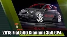 all new 2018 fiat 500 giannini 350 gp4 4x4 350hp