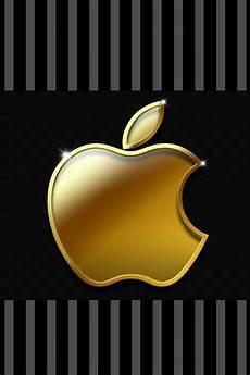 gold apple logo wallpaper golden apple wallpaper background ipod backgrounds