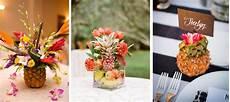centre de table tropical ananas tropicool