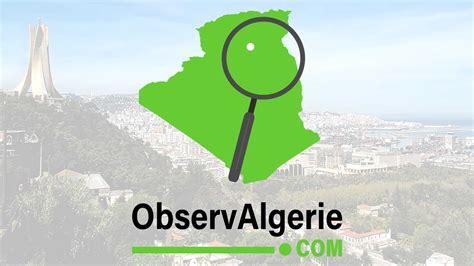 Info Algerie En Direct