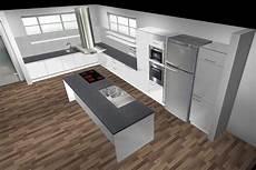 küchen mit insel bilder gro 223 e k 252 che kochinsel lack viele ausz 252 ge eckrondell le