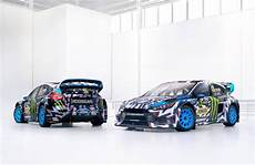 The Livery On Ken Block S New Ford Focus Rs Rx Is To