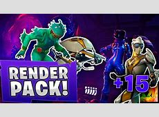New FREE RENDER Pack Fortnite! New SKINS and WALLPAPERS