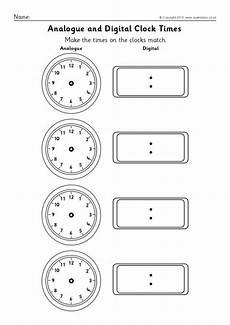 blank analogue and digital clock times worksheets sb9593 sparklebox
