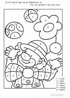 Clown Malvorlagen Ausdrucken Quiz Color By Number Toucan Child Worksheets And Number