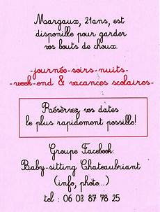 baby sitting week end lettre de motivation baby sitting fresh annonce