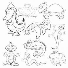 Ausmalbilder Reptilien Malvorlagen Kostenlose Malvorlage Tiere Reptilien Und Hibien Zum