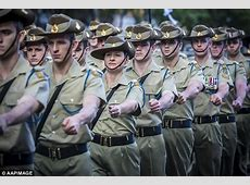 Women fitness test is four push ups in the Australian Army