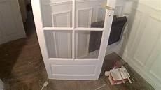 peindre une porte vitree