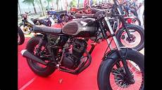 Modifikasi Custom by Modifikasi Cb 100 Custom Cafe Racer Indonesia
