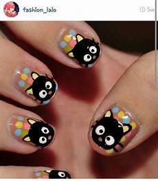 chococat emo nail art