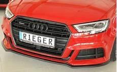 Rieger Tuning Katalog 2017 - rieger spoilerschwert lippe passend f 252 r audi a3 8v
