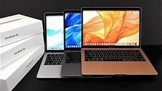 apple macbook air retina unboxing review all colors