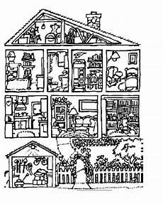Ausmalbilder Haus Malvorlagen Fur Kinder Ausmalbilder Haus Kostenlos