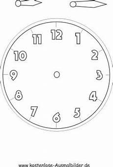 Uhr Malvorlagen Ausmalbilder Uhr Ausmalbilder
