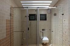 Bad Trennwand Glas - trivandrum bathroom shower glass partition shower glass