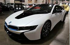 electrified 2014 bmw i8 hybrid sports car in new condition