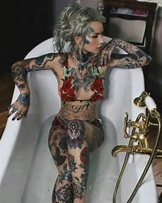 97 best naked tattooed women images on pinterest girl