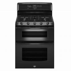 maytag mgt8775xb 6 cu ft double oven gas range w