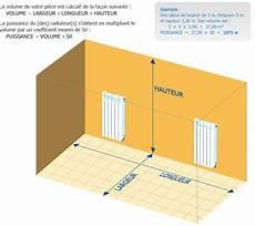 calcul puissance radiateur chauffage central calcul de la puissance de vos radiateurs