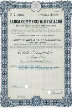 banche di interesse nazionale storia delle banche italiane commerciale italiana