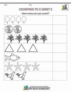 counting numbers preschool worksheets 8026 preschool counting worksheets counting to 5