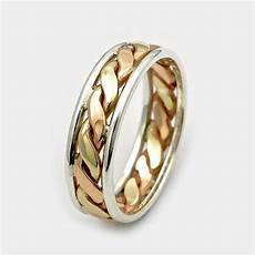 mens wedding bands father s day sale 9ct twist gold ring