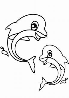 ausmalbilder delfine 22 ausmalbilder tiere