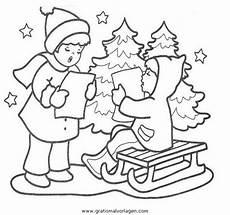 landschaften 56 gratis malvorlage in weihnachten