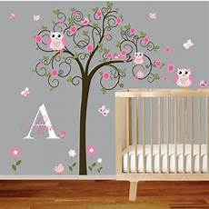 Tree Murals For Nursery Tree Wall Decal Nursery Vinyl