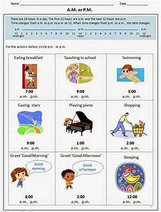 telling time worksheets using am and pm 3220 happy learners april 2014