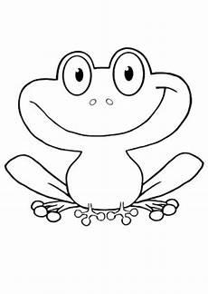 Frosch Bilder Malvorlagen Frosch Zum Ausmalen Newtemp