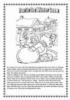 winter worksheets elementary 19988 winter activity worksheets esl worksheet by libertybelle